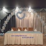 украшение свадьбы воздушными щарами