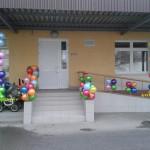 уличное оформление шарами