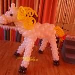украшения из шаров на детский праздник