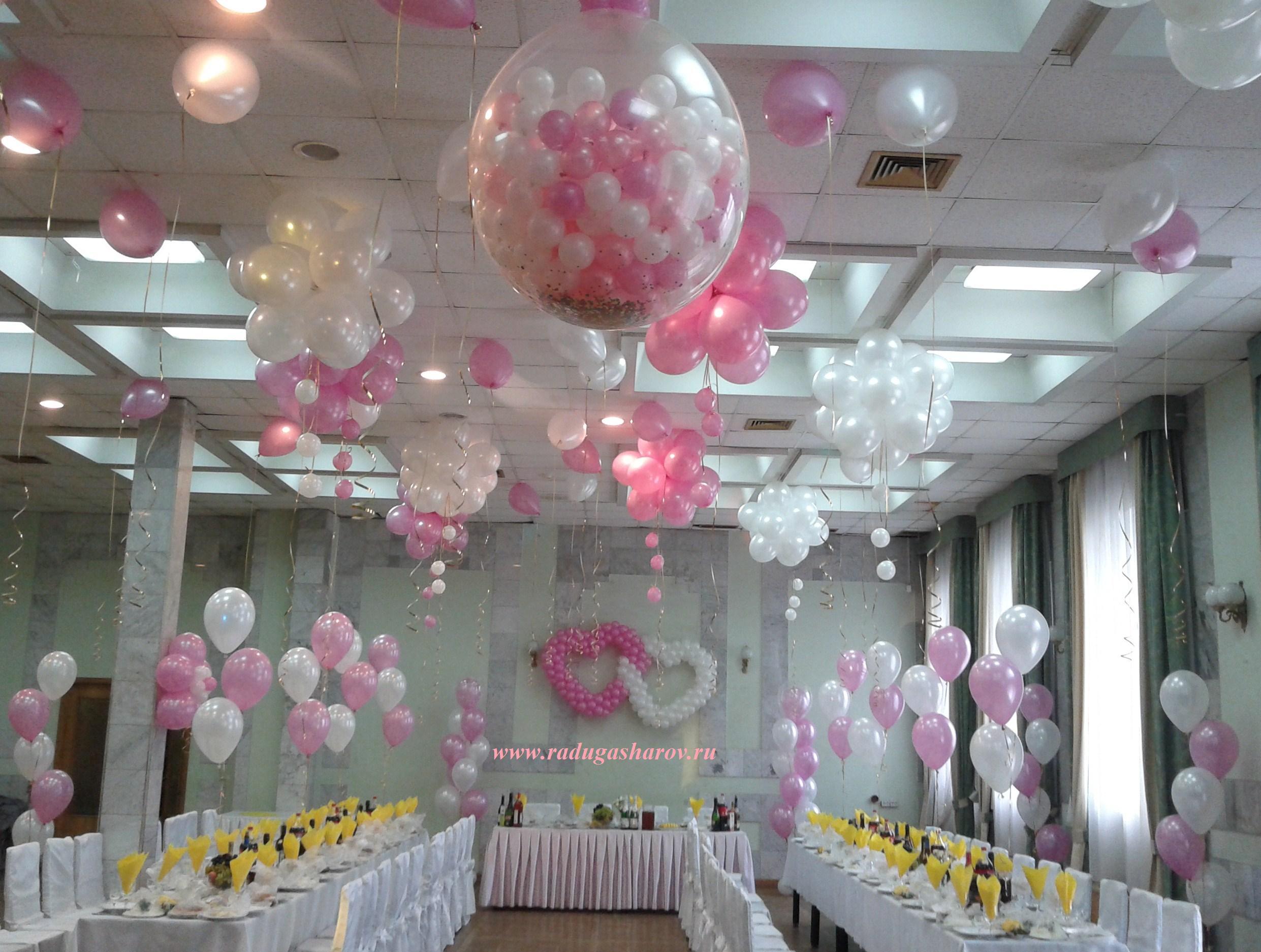 Шары на свадьбе: 40 идей с фото Снова Праздник! 40