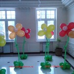воздушные шары на юбилей