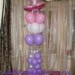 оформление детского праздника шарами