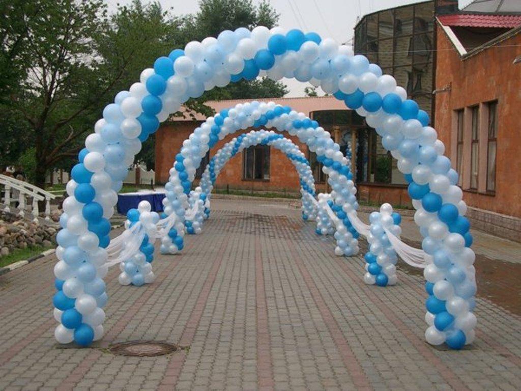 Как можно сделать арку из воздушных шаров своими руками