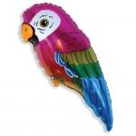 воздушный шар попугай