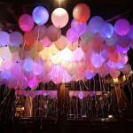 облако светящихся шаров