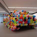 танк из воздушных шаров