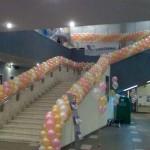 воздушные шары в торговом центре